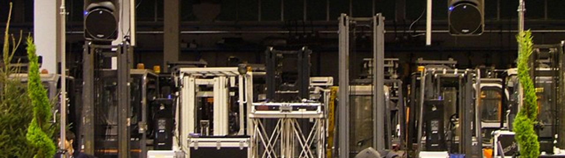 Noleggio Impianti Audio-Luci